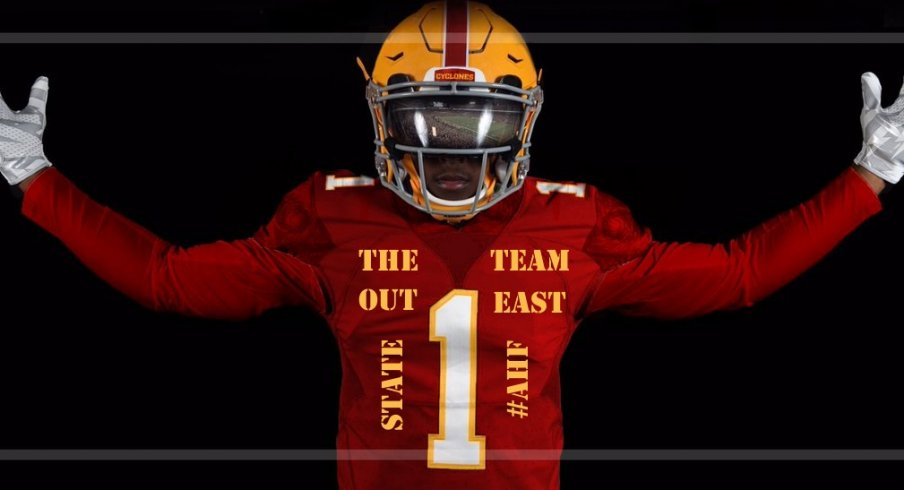 iowa state unveils the team out east state jerseys go iowa awesome
