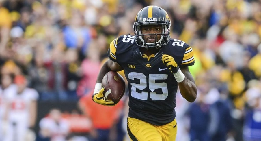 Akrum helped Iowa cruise to a win.