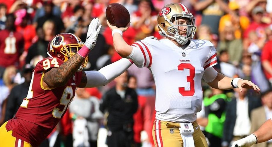 CJ Beathard, makin' TDs for the 49ers.
