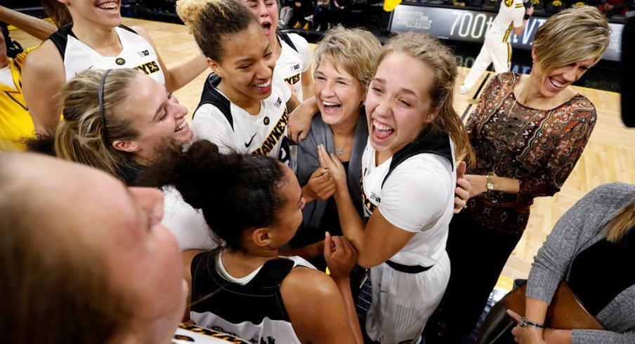Iowa Celebrates Coach Bluder's 700th Victory