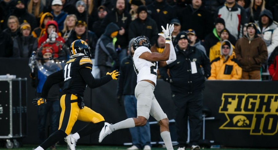 Purdue made Iowa's defense go Mah-BOOM-gou.