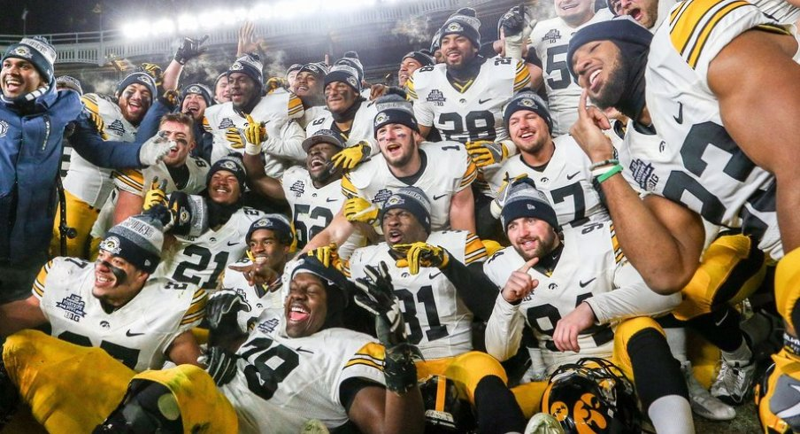 That's a lot of Hawkeyes.