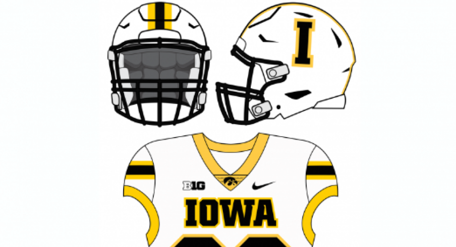 the best attitude c7c72 0e801 LOOK: Hesse & Nelson Design an Alternate Iowa Football ...