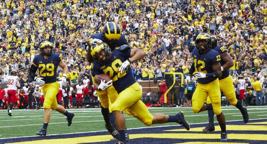 Maize and Blue woo.