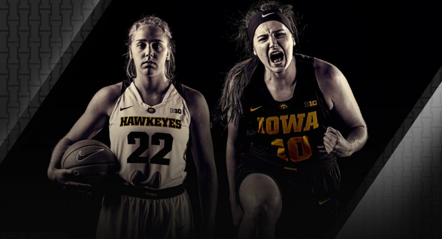 Megan Gustafson and Kathleen Doyle will hope to lead Iowa to a memorable season