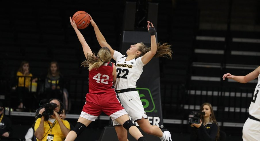 Iowa eventually pulled out a 72-58 win over IUPUI