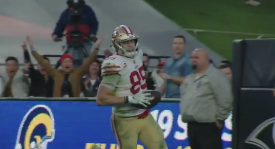 ac497084 George Kittle Sets Single Season NFL Record for Receiving Yards by ...