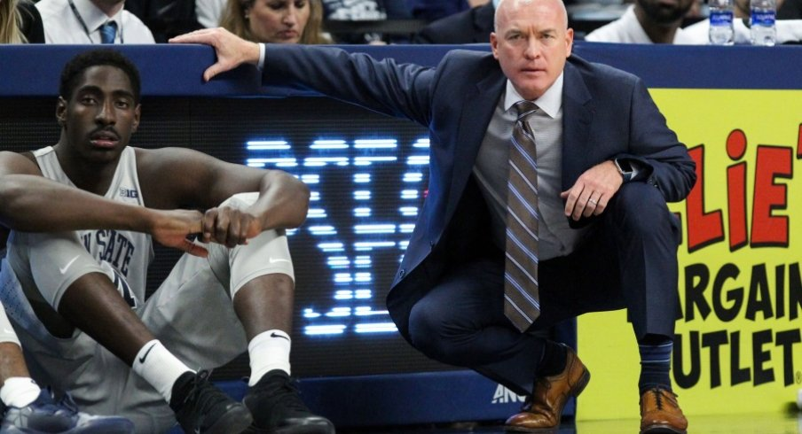 Literally every photo of Pat Chambers has him poised to attack someone.