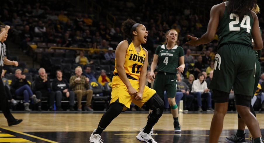 Iowa earned another big victory at home with an 86-71 win over #23 Michigan State