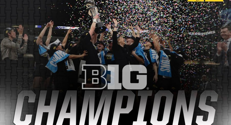 Iowa wins the Big Ten Tournament with a dominant 90-76 victory over Maryland