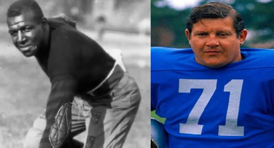 Duke Slater and Alex Karras
