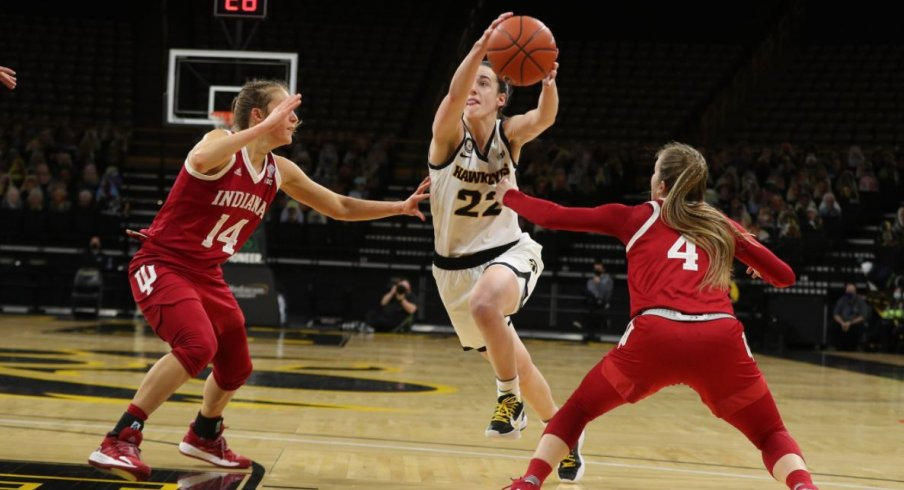 Iowa came up just short against another ranked opponent in #17 Indiana
