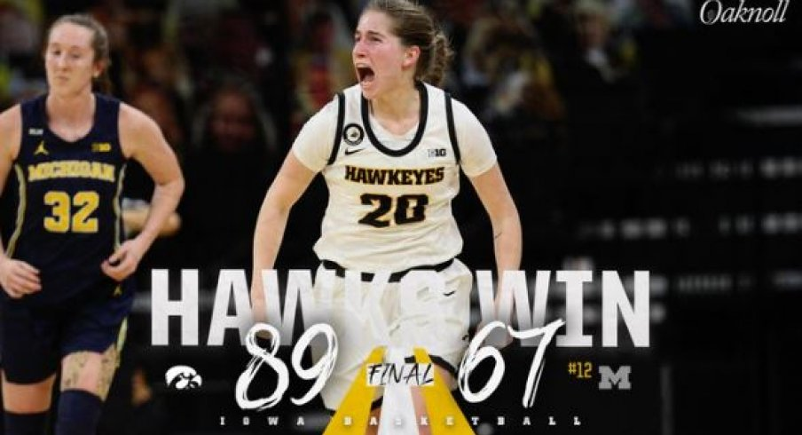 Iowa got its best win of the season with an 89-67 victory over Michigan