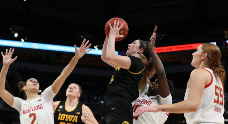 Iowa gave its best effort, but fell 104-84 to #7 Maryland in the Big Ten Tournament championship game