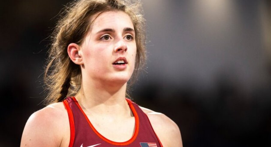 Rachel Watters, a new member of the Hawkeye Wrestling Club, and an athlete helping blaze the trail for women's wrestling.